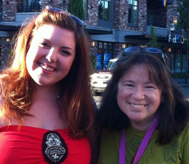 Mary Lambert and Charlette LeFevre